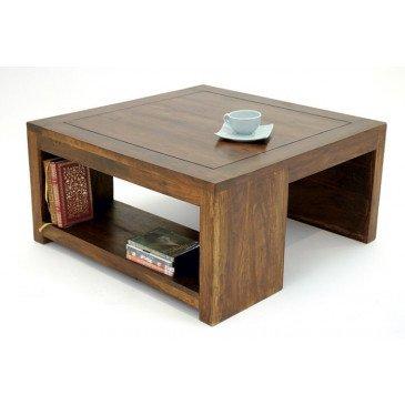 Table Basse Susono de Style Asiatique en Palissandre 80cm | www.cosy-home-design.fr