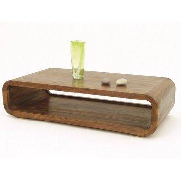 Table Basse Susono de Style Asiatique en Palissandre 120cm | www.cosy-home-design.fr