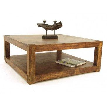 Table Basse Padang de Style Ethnique en Palissandre 100cm | www.cosy-home-design.fr