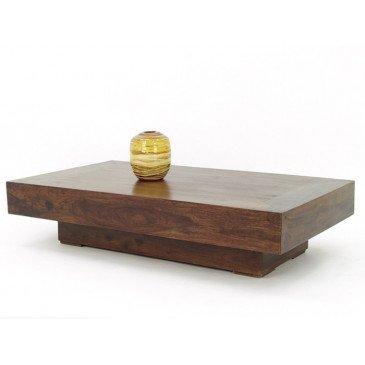 Table Basse Padang de Style Ethnique en Palissandre 135cm | www.cosy-home-design.fr