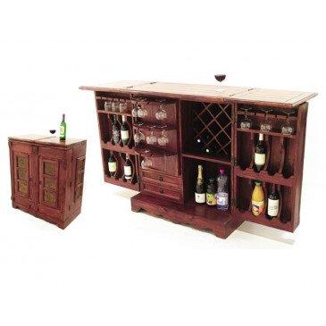 Bar Taman de Style Ethnique en Palissandre 88cm | www.cosy-home-design.fr