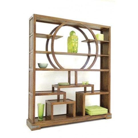 Bibliothèque Susono de Style Asiatique en Palissandre | www.cosy-home-design.fr