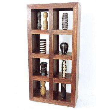 Bibliothèque Tanete de Style Ethnique en Palissandre 90cm | www.cosy-home-design.fr