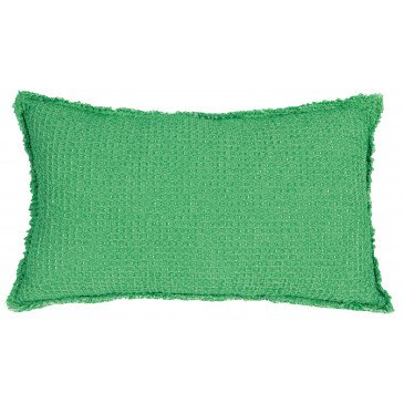 Housse de Coussin Stonewashed Maia C Agave 50 | www.cosy-home-design.fr