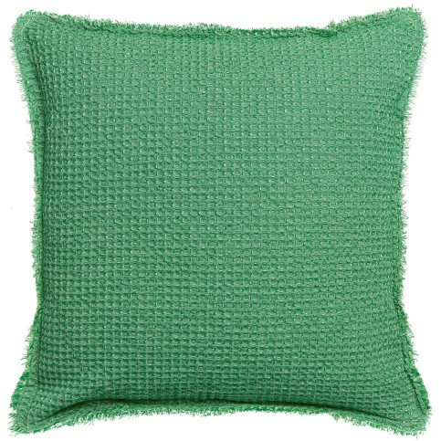 Housse de Coussin Stonewashed Maia C Agave 45 | www.cosy-home-design.fr