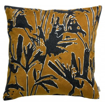 Housse de Coussin Coco Brode Bronze 45 | www.cosy-home-design.fr