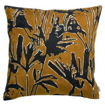 Housse de Coussin Coco Brode Bronze 45   www.cosy-home-design.fr