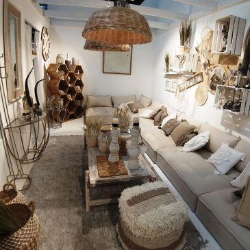 Fauteuil Rectangulaire Textile/Bois Beige