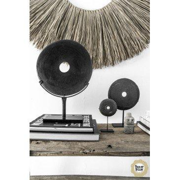 Décoration Bohème Chic Noir en Pierre Medium | www.cosy-home-design.fr