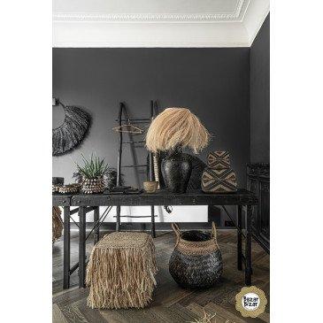 Collier Décoratif Bohème Chic Naturel en Herbes Séchées Medium | www.cosy-home-design.fr