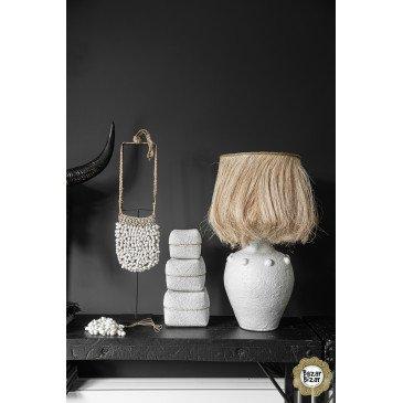 Décoration Bohème Chic Naturel, Blanc en Coquillages  | www.cosy-home-design.fr