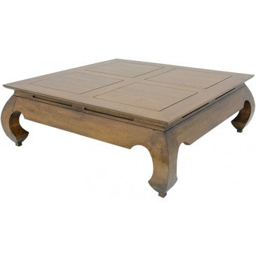 Table Opium Style Asiatique Bois Massif Beijing | www.cosy-home-design.fr