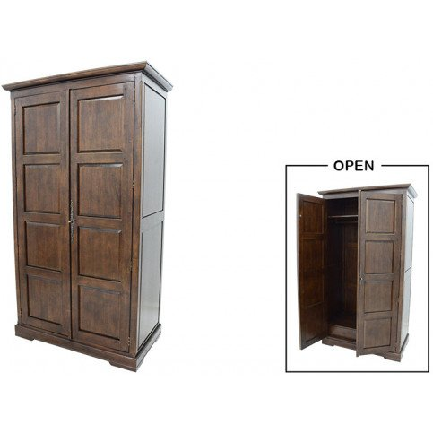 Armoire Penderie  Style Campagne Bois Massif Cottage | www.cosy-home-design.fr