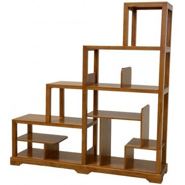 Meuble Escalier Style Contemporain Bois Massif Mahon   www.cosy-home-design.fr