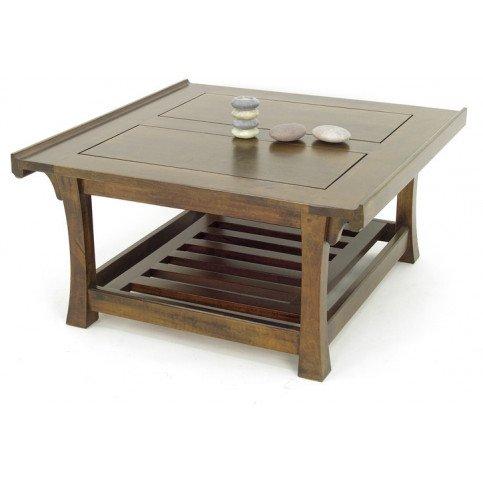 Table Basse Style Asiatique Bois Massif Pékin | www.cosy-home-design.fr