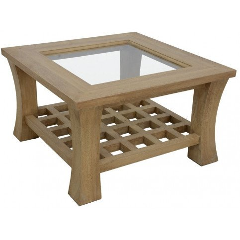 Table Basse Style Asiatique Bois Massif Ying   www.cosy-home-design.fr