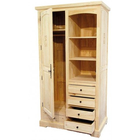 Armoire Enfant Style Campagne Bois Massif Cottage | www.cosy-home-design.fr