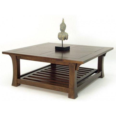 Table Basse Style Asiatique Bois Massif Pékin   www.cosy-home-design.fr