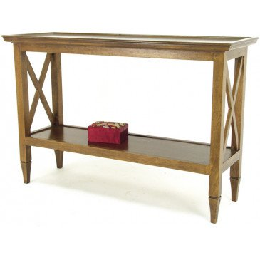 Console Style Colonial Bois Massif Pondichéry | www.cosy-home-design.fr