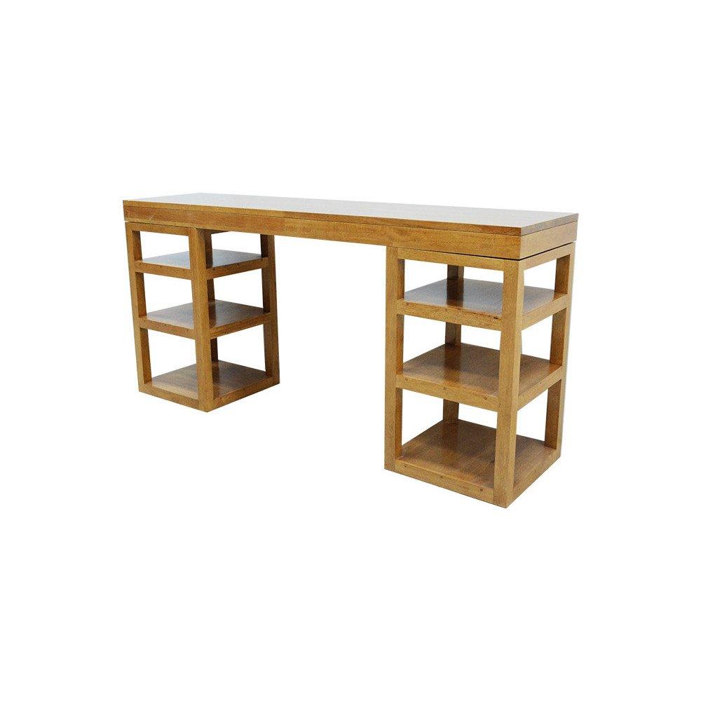 Console Style Contemporain Bois Massif Mahon   www.cosy-home-design.fr