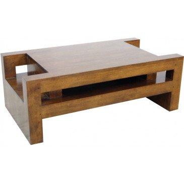 Table Basse Style Contemporain Bois Massif Mahon   www.cosy-home-design.fr