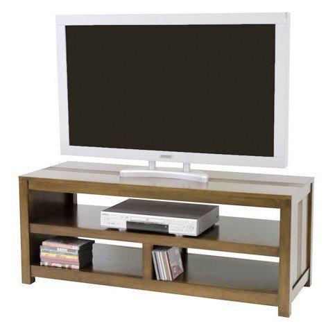 Meuble TV Style Ethnique Bois Massif Macenta | www.cosy-home-design.fr