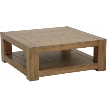 Table Basse Style Contemporain Bois Massif Tallin | www.cosy-home-design.fr