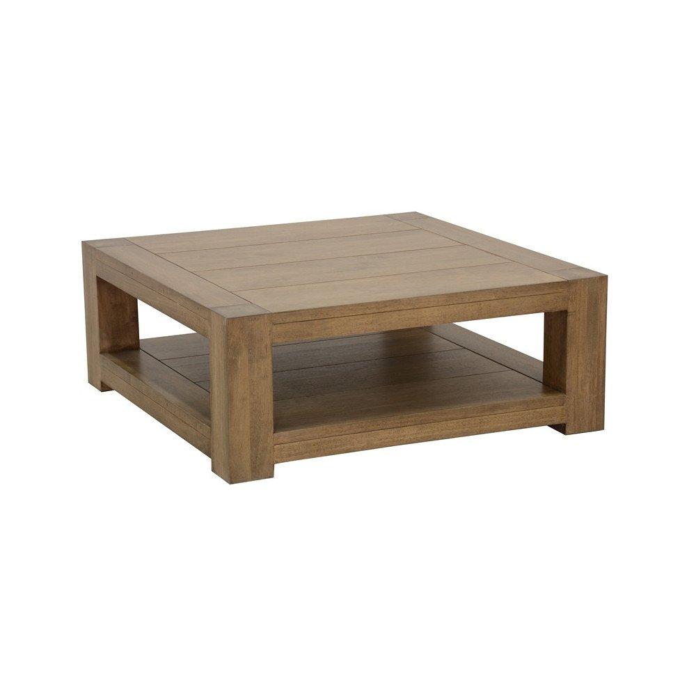 Table Basse Style Contemporain Bois Massif Tallin | www.cosy-home-design.fr