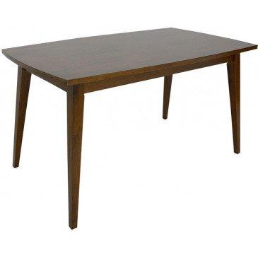 Table de Repas Style Rétro Bois Massif Vinny | www.cosy-home-design.fr