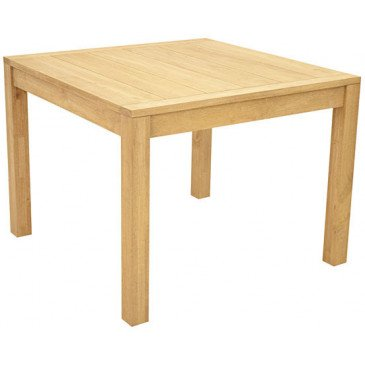 Table de Repas Style Contemporain Bois Massif Tribeca | www.cosy-home-design.fr
