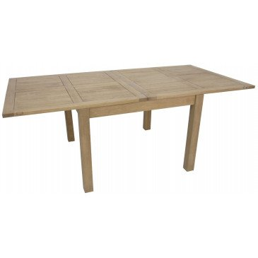 Table de Repas Style Contemporain Bois Massif Tribeca | www.cosy-home-design.fr