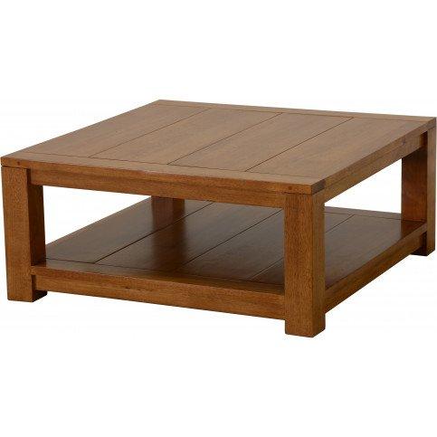 Table Basse Style Contemporain Bois Massif Tribeca   www.cosy-home-design.fr
