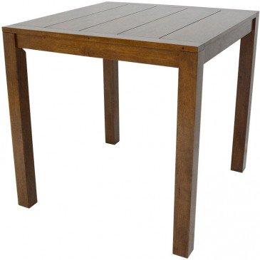 Table de Bar Style Contemporain Bois Massif Tribeca | www.cosy-home-design.fr