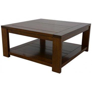 Table Basse Style Classique Bois Massif Adour | www.cosy-home-design.fr