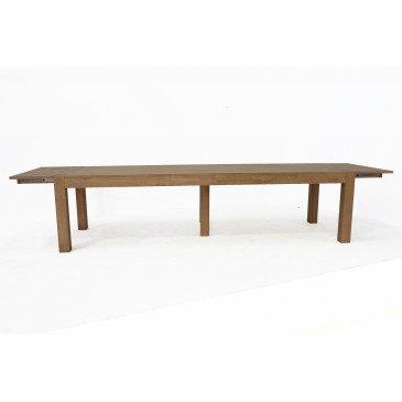 Table de Repas Style Contemporain Bois Massif Tallin | www.cosy-home-design.fr
