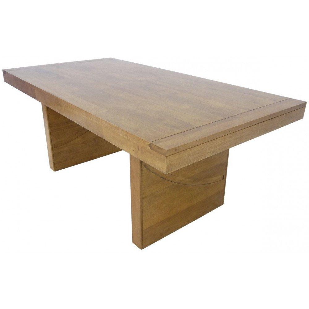 Table de Repas Style Ethnique Bois Massif Kenya | www.cosy-home-design.fr