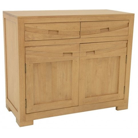 Buffet Style Ethnique 2 Tiroirs 2 Portes Bois Massif Kenya | www.cosy-home-design.fr