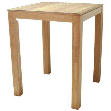 Table de Repas Style Contemporain Bois Massif Mahon | www.cosy-home-design.fr