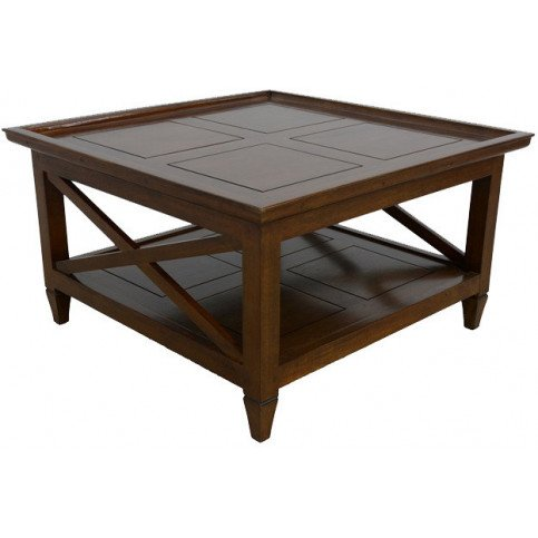 Table Basse Style Colonial Bois Massif Pondichéry | www.cosy-home-design.fr