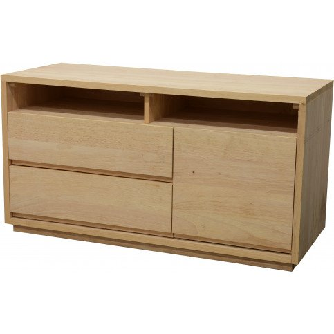 Commode Style Scandinave 2 Tiroirs Bois Massif Skur   www.cosy-home-design.fr