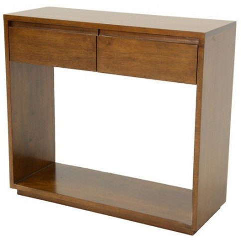 Console Style Scandinave 2 Tiroirs Bois Massif Skur   www.cosy-home-design.fr