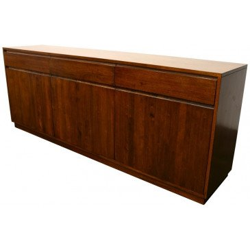 Buffet Style Scandinave 3 Tiroirs Bois Massif Skur | www.cosy-home-design.fr