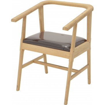 Fauteuil Style Scandinave Bois Massif Skur | www.cosy-home-design.fr