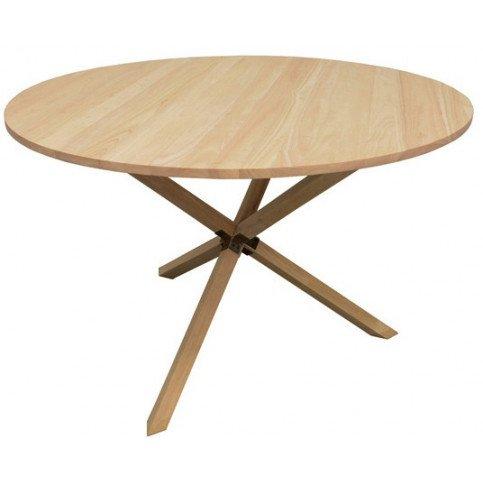 Table à Manger Ronde Style Scandinave Bois Massif Skur | www.cosy-home-design.fr