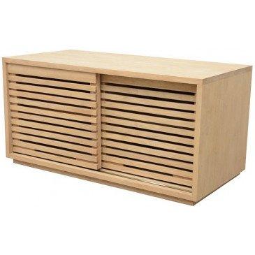 Meuble de Rangement Style Classique 2 Portes Bois Massif Orléans | www.cosy-home-design.fr