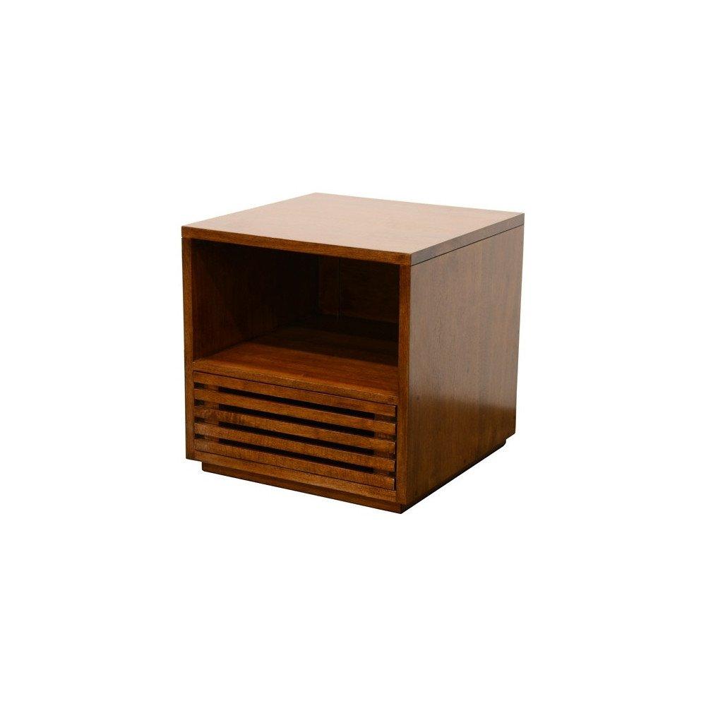 Meuble TV Style Classique 1 Tiroir Bois Massif Orléans   www.cosy-home-design.fr