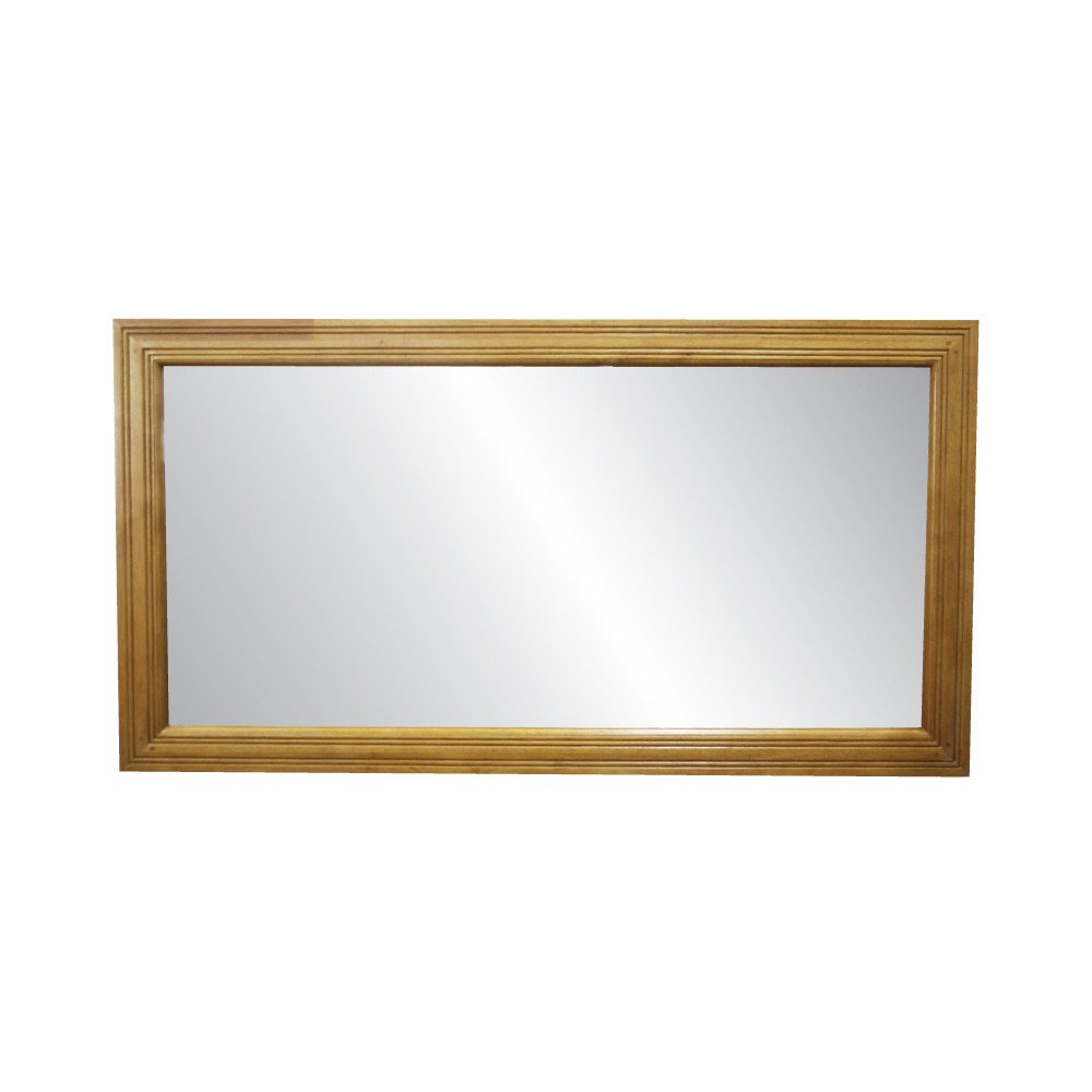 Miroir Style Campagne Bois Massif Valley