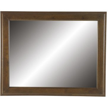Miroir Style Campagne Bois Massif Cottage