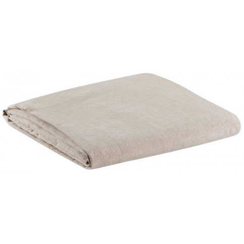 Drap Housse Stonewashed Zeff/Zephyr Naturel 180x200 Bonnet 30cm