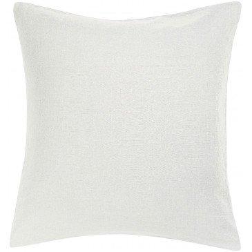 Taie Oreiller Stonewashed Zeff Blanc 65 x 65